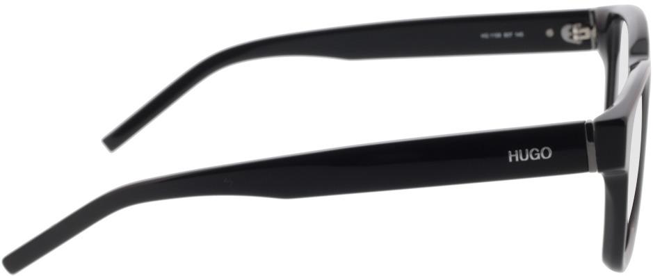 Picture of glasses model Hugo HG 1158 807 50-21 in angle 90