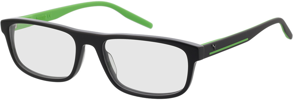 Picture of glasses model Puma PU0275O-004 57-18 in angle 330