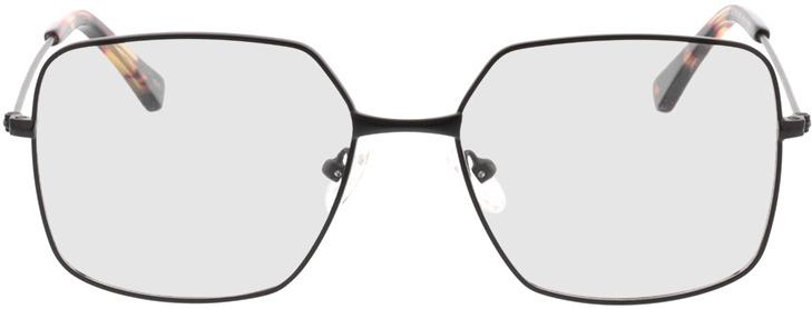 Picture of glasses model Nox-matt schwarz in angle 0