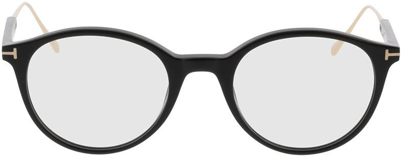 Picture of glasses model Tom Ford FT5485 001 49-20 in angle 0
