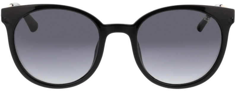 Picture of glasses model Guess GU7503 01A 52-20 in angle 0