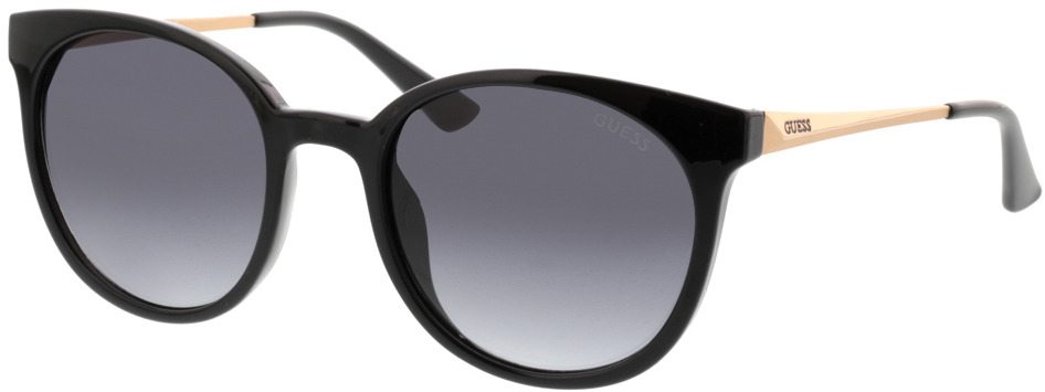 Picture of glasses model Guess GU7503 01A 52-20 in angle 330