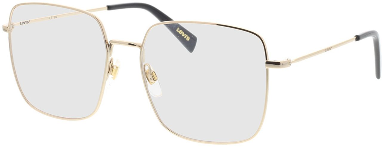 Picture of glasses model Levi's LV 1010 J5G 56-17 in angle 330