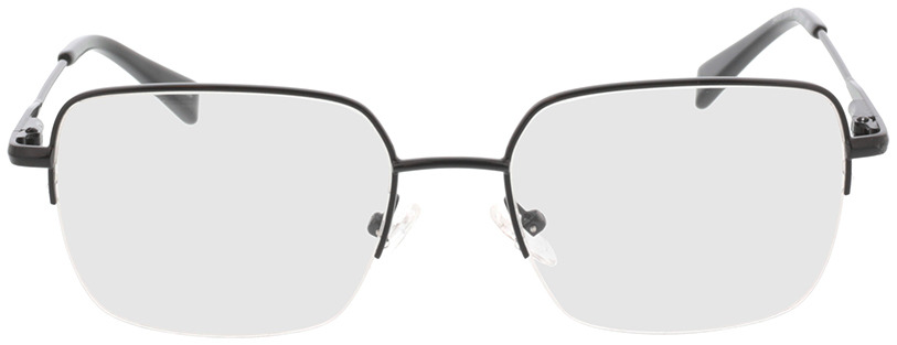 Picture of glasses model Texel-schwarz in angle 0