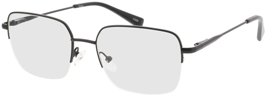 Picture of glasses model Texel-schwarz in angle 330