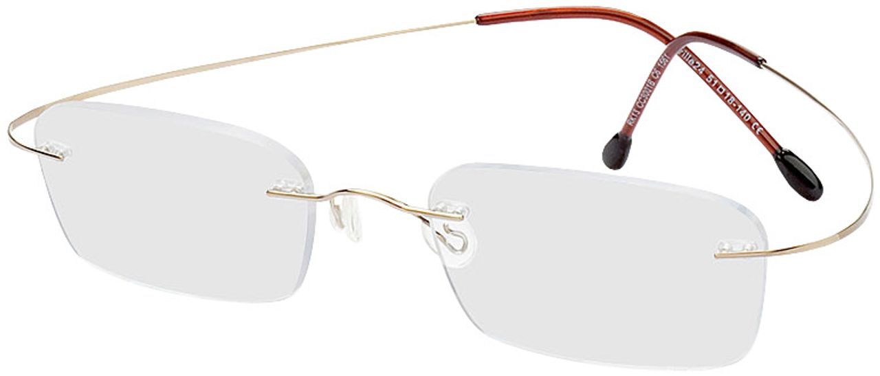 Picture of glasses model Mackay-gold in angle 330