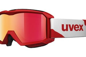 Skibrille Flizz LM Red Matt/Red Mirror