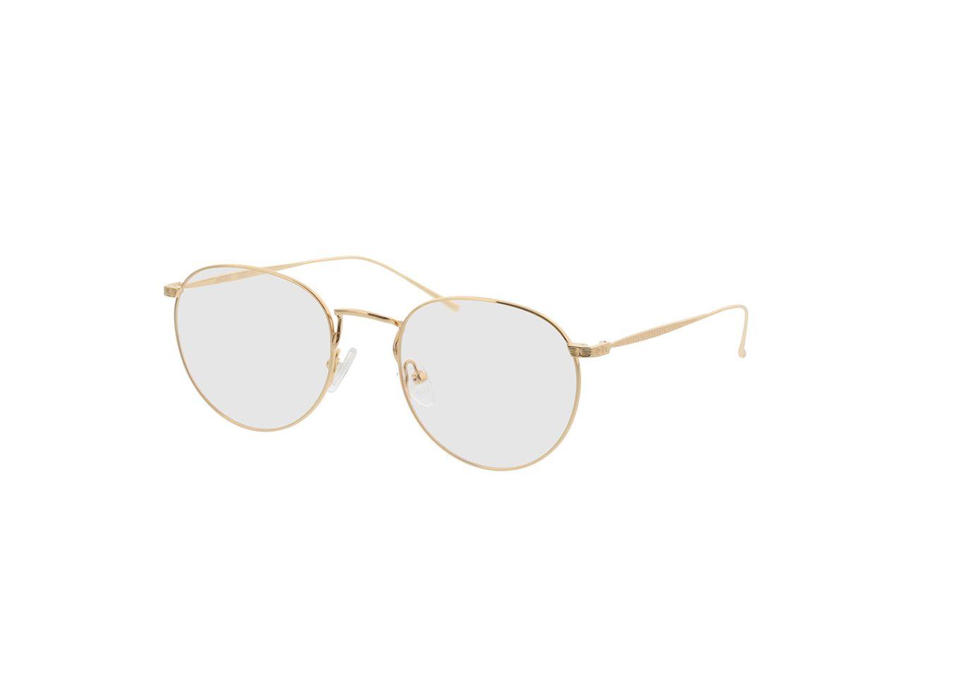 4810-singlevision-0000 Macon-gold Gleitsichtbrille, Vollrand, Rund Brille24 Collection