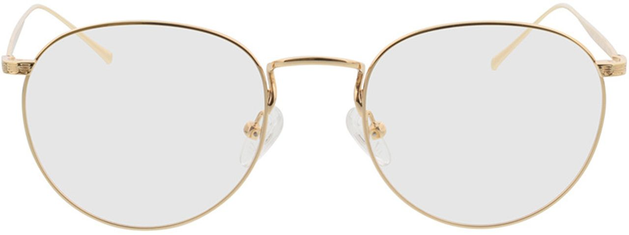 Picture of glasses model Macon-gold in angle 0