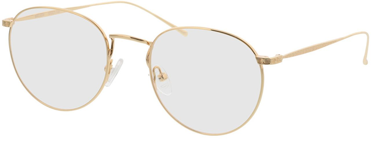 Picture of glasses model Macon-gold in angle 330
