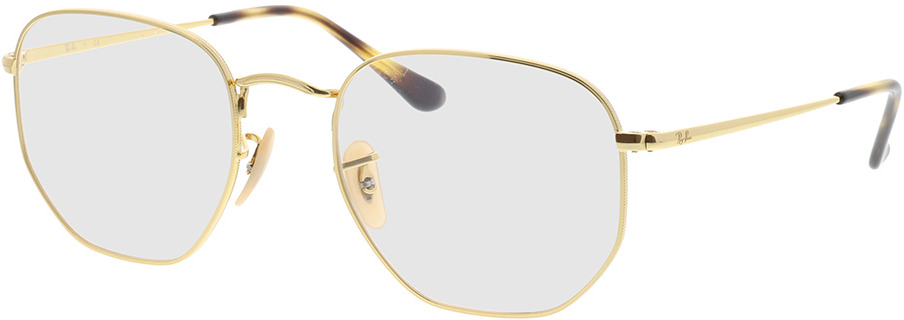 Picture of glasses model Ray-Ban Hexagonal RX6448 2500 54-21 in angle 330