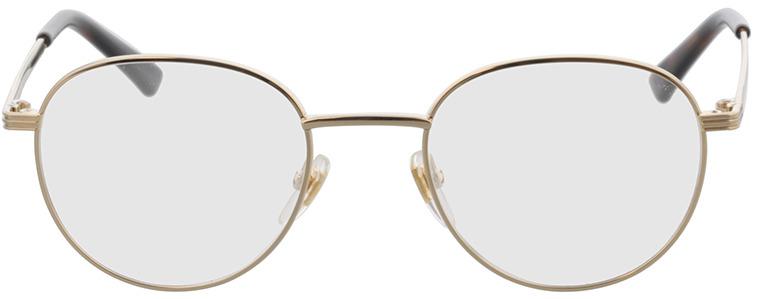 Picture of glasses model Gucci GG0835O-001 48-20 in angle 0