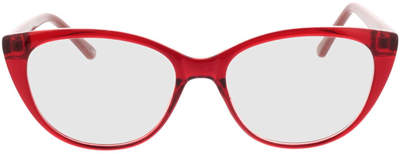 Picture of glasses model Arene-rot/braun in angle 0