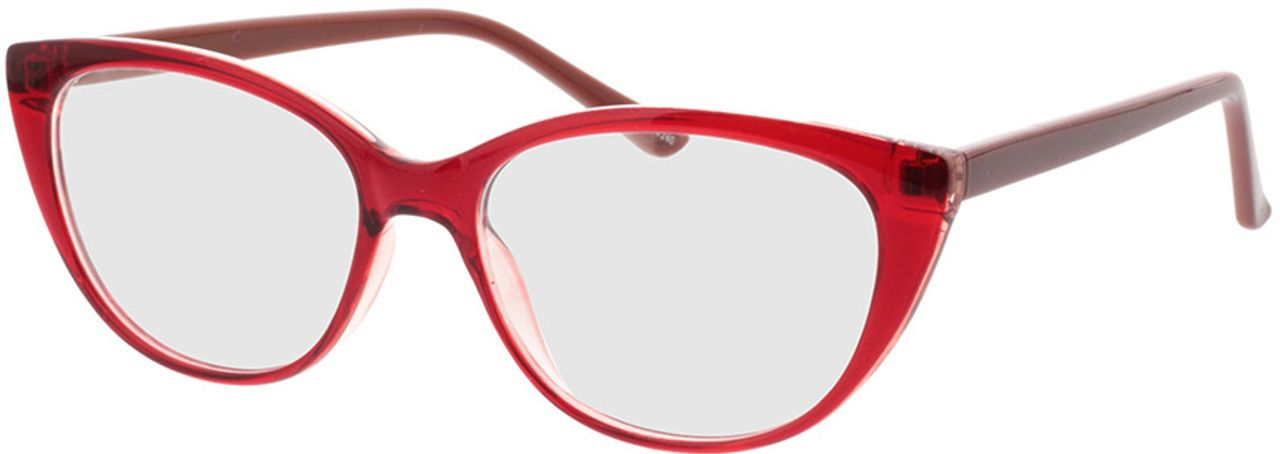Picture of glasses model Arene-rot/braun in angle 330