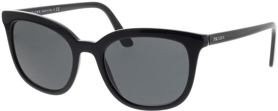 Picture of glasses model Prada PR 03XS 1AB5S0 53-20 in angle 330