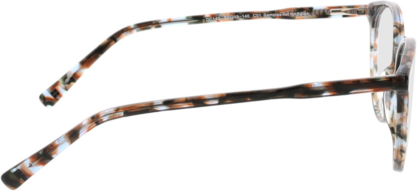 Picture of glasses model Olivia-beige/grau in angle 90