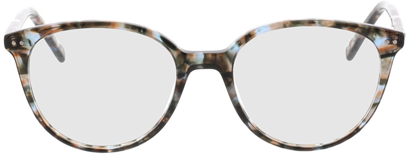 Picture of glasses model Olivia-beige/grau in angle 0