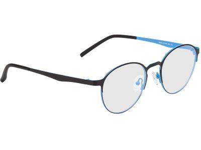 Brille Ribe-schwarz/blau