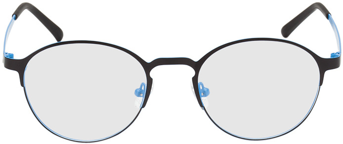 Picture of glasses model Ribe-schwarz/blau in angle 0