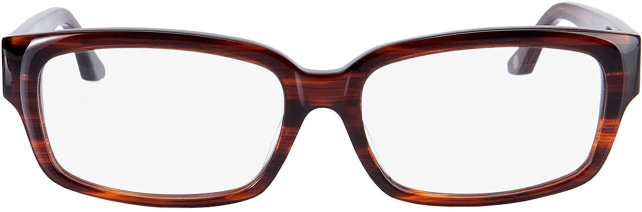 Picture of glasses model Brooklyn brown in angle 0
