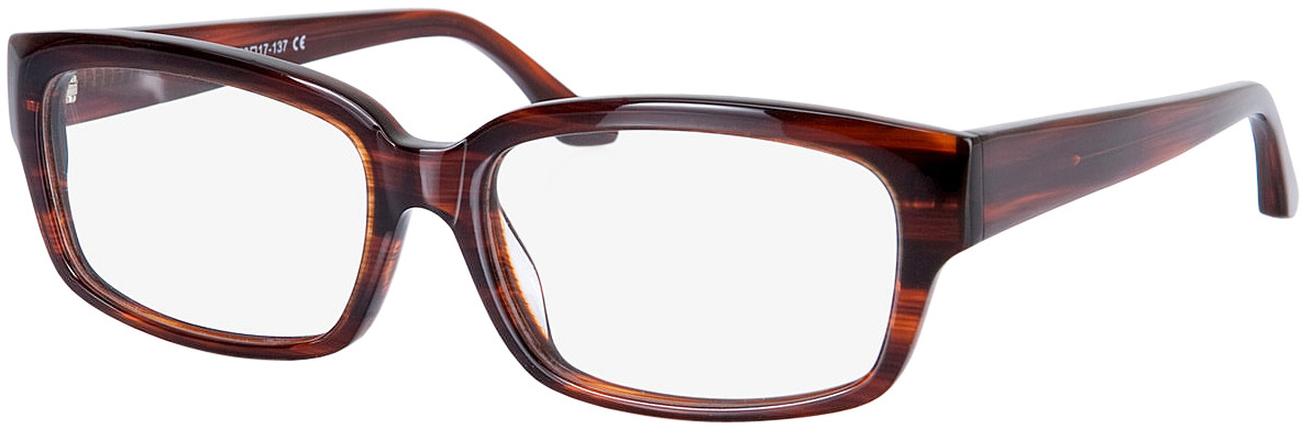 Picture of glasses model Brooklyn-braun in angle 330