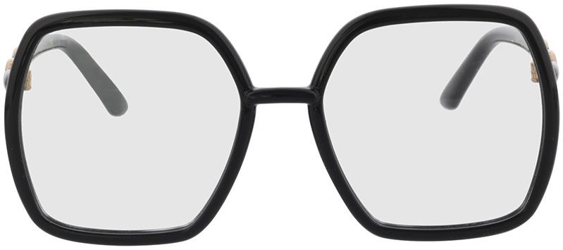 Picture of glasses model Gucci GG0890O-001 55-19 in angle 0