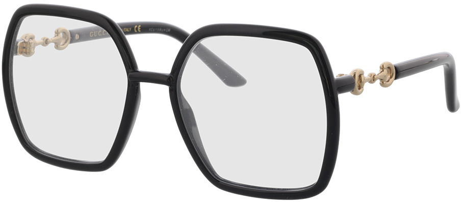 Picture of glasses model Gucci GG0890O-001 55-19 in angle 330