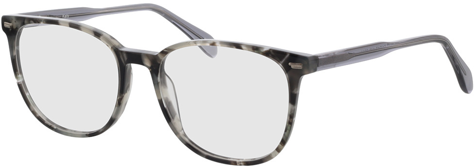 Picture of glasses model Katy-gris chiné in angle 330