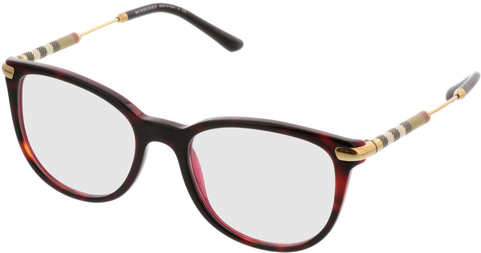 Picture of glasses model Burberry BE2255Q 3657 51-18 in angle 330