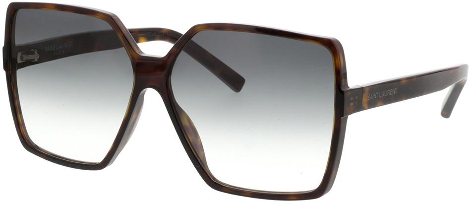 Picture of glasses model Saint Laurent SL 232 BETTY-003 63-13 in angle 330