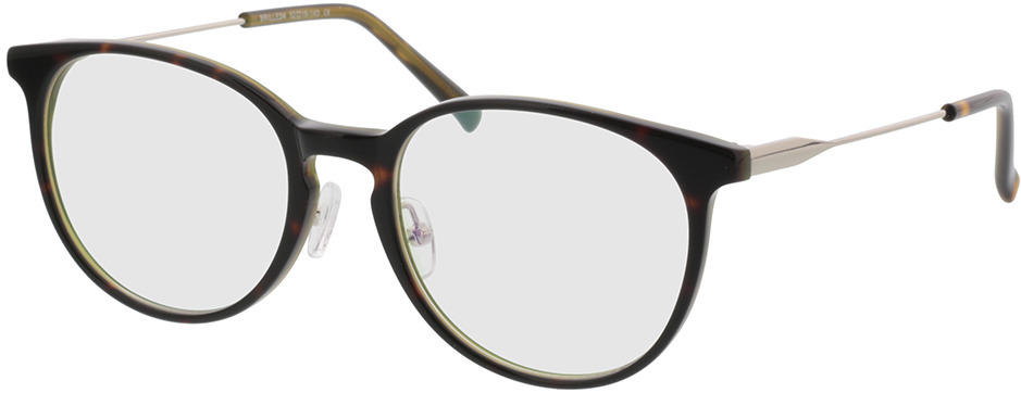 Picture of glasses model Kelibia-braun-meliert/silber in angle 330