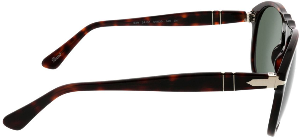 Picture of glasses model Persol PO0649 24/31 54-20 in angle 90