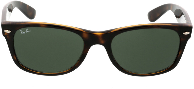Picture of glasses model Ray-Ban New Wayfarer RB2132 902 52-18 in angle 0