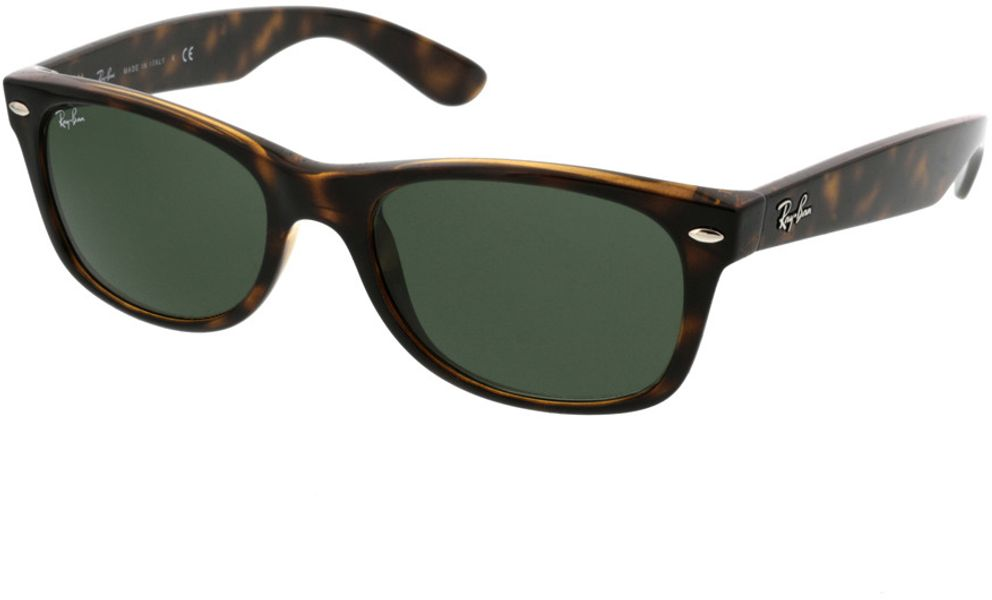 Picture of glasses model Ray-Ban New Wayfarer RB2132 902 52-18 in angle 330