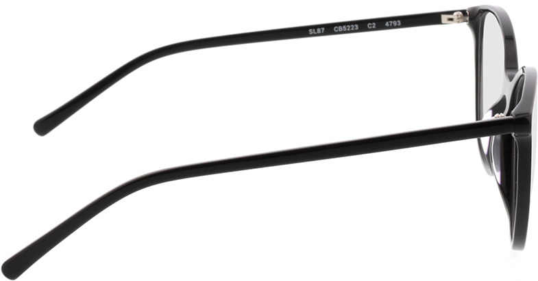Picture of glasses model Bloomington-schwarz in angle 90