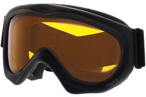 Skibrille Magic II Black/Gold Lite