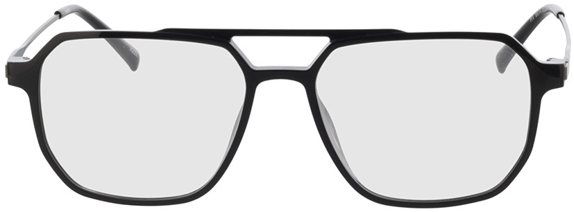 Picture of glasses model Brady Zwart/mat zilver in angle 0