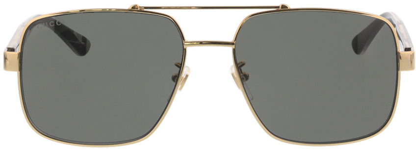 Picture of glasses model Gucci GG0529S-001 60-17 in angle 0