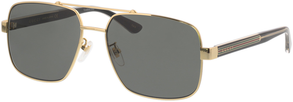 Picture of glasses model Gucci GG0529S-001 60-17 in angle 330