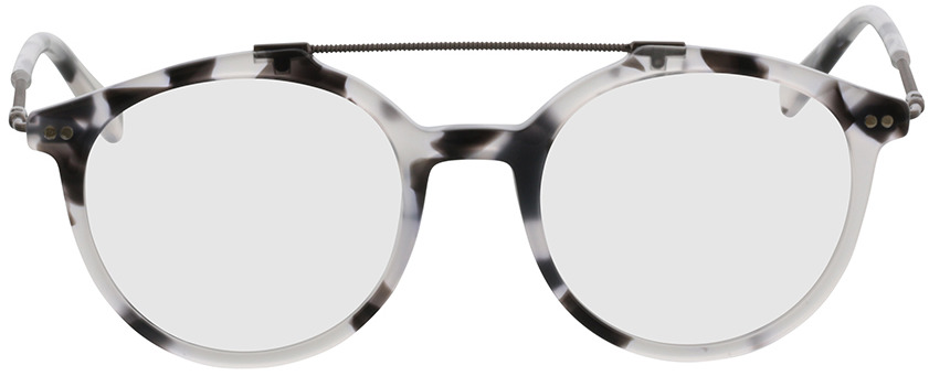 Picture of glasses model Formia-schwarz-transparent-meliert in angle 0