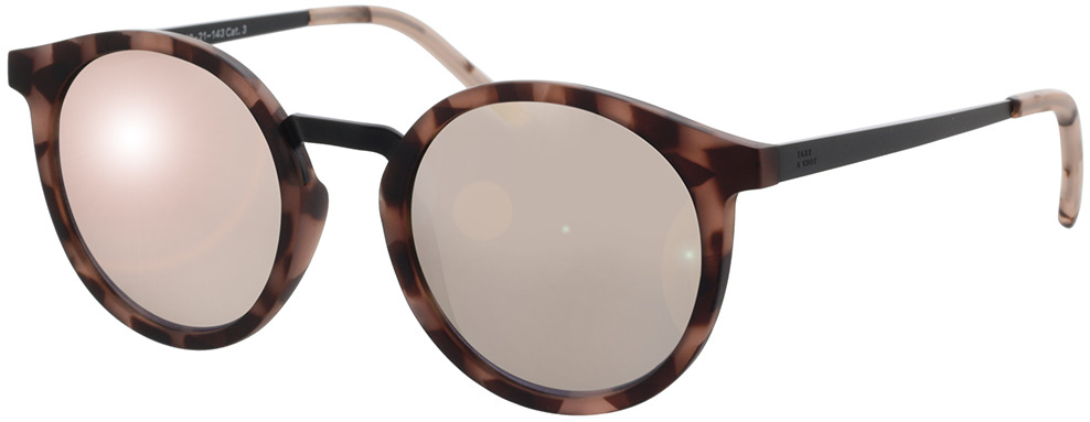 Picture of glasses model TAKE A SHOT Leonie: Pebble - Lily Mirrored 49-21 in angle 330