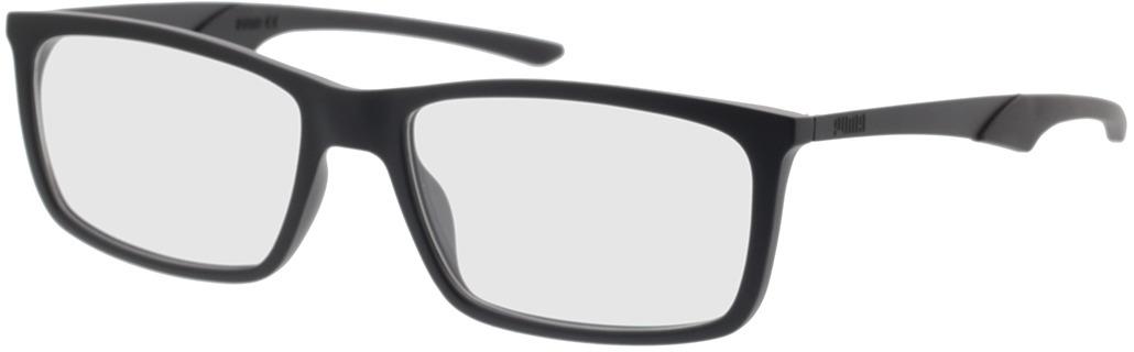 Picture of glasses model Puma PU0357O-001 57-17 in angle 330