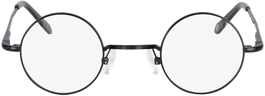 Picture of glasses model Cary preto in angle 0