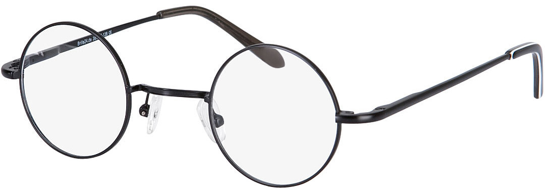 Picture of glasses model Cary preto in angle 330