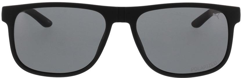 Picture of glasses model Puma PU0192S-002 57-17 in angle 0