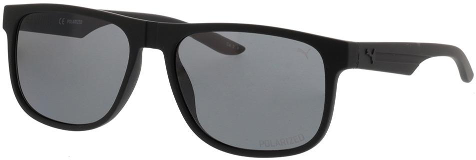 Picture of glasses model Puma PU0192S-002 57-17 in angle 330