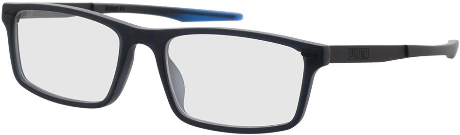 Picture of glasses model Puma PU0299O-003 56-18 in angle 330
