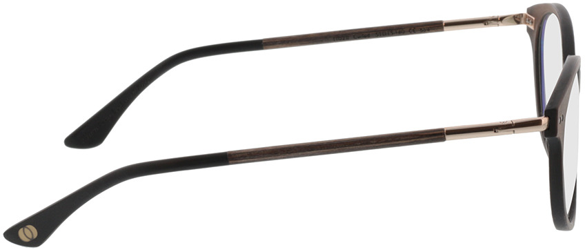 Picture of glasses model Wood Fellas Optical Solace curled 51-17 in angle 90