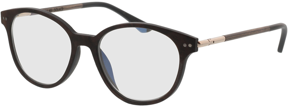 Picture of glasses model Wood Fellas Optical Solace curled 51-17 in angle 330