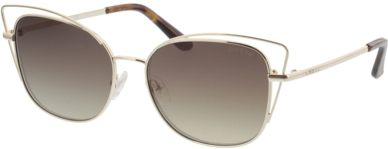 Picture of glasses model Guess GU7528 32G 56-16 in angle 330